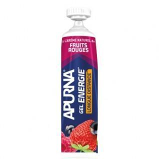 Lot de 25 Gels Apurna Energie Longue Distance Fruits Rouges - 35 g
