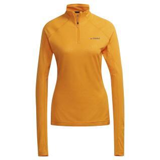 T-shirt manches longues femme adidas Terrex Tracerocker