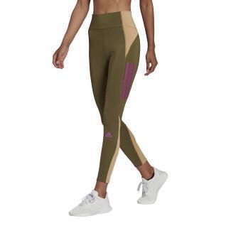 Legging femme adidas Own The Run Block 7/8 Running