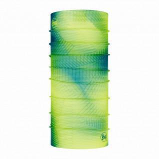 Tour de cou Buff spiral yellow fluor