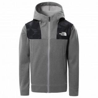 Veste enfant The North Face à capuche Zippée Surgent