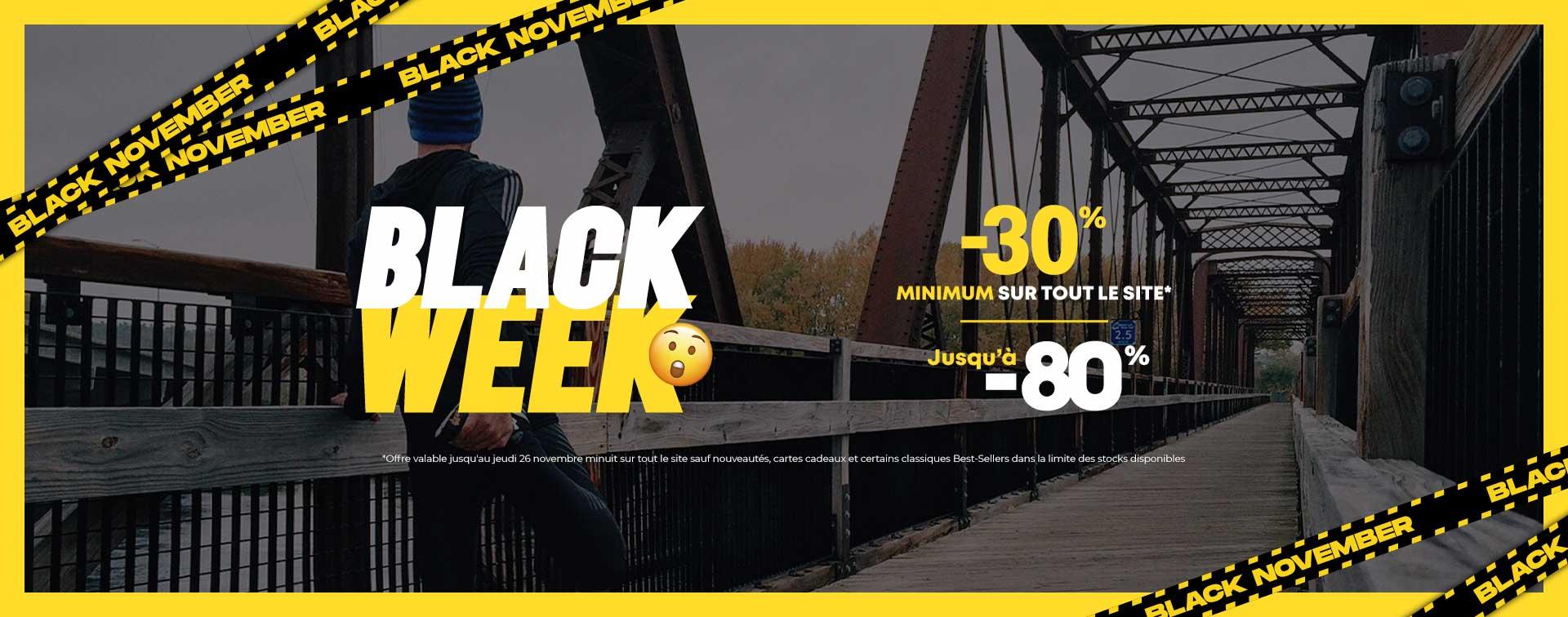 Black November tout à -30%